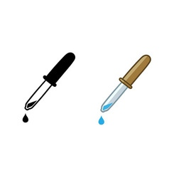 Eyedropper vector