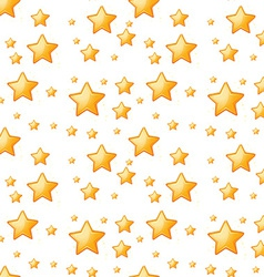 Seamless yellow stars vector