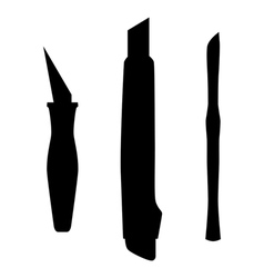 Working knifes vector