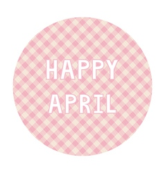 Happy april background4 vector