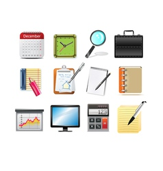 Office related icons vector