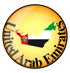 Button united arab emirates vector