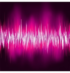 Abstract purple waveform eps 8 vector