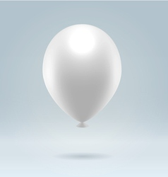White balloon vector