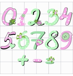 Girly number vector