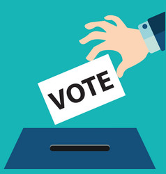 Vote ballot with box vector
