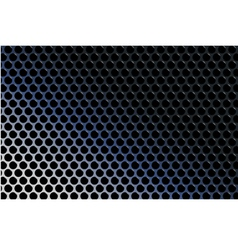 Abstract techno metallic gradient grid vector
