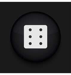 Black circle icon eps10 vector