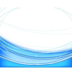 Blue background - technology vector