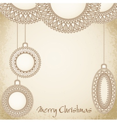 New years holiday hand-drawn background vector