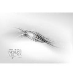 Abstract grey center text vector