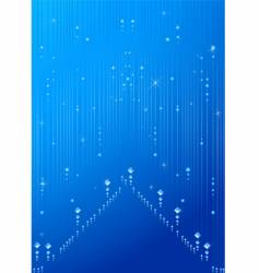 Sparkle blue background vector