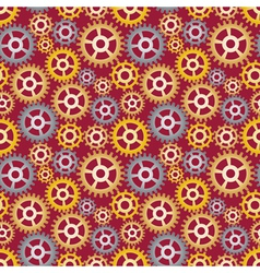 Pattern made of gears vector
