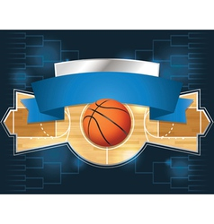 Basketball tournament vector
