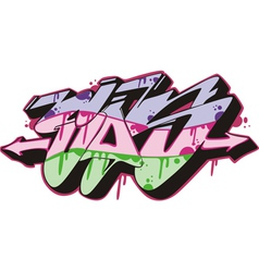 Graffito - sos vector