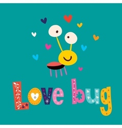 Love bug vector