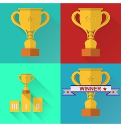 Icons for competition vector