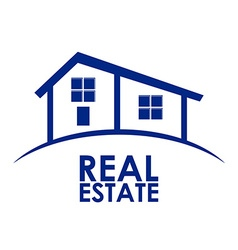 Real estate design vector