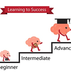 Brain learning to success vector