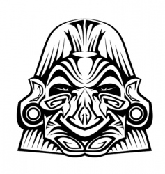 Ancient mask vector