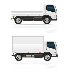 Small truck 03 vector