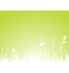 Grass meadow vector