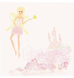 Magic fairy elf vector