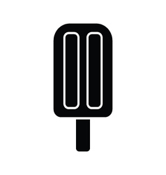 Ice cream stick vector