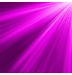 Luminous rays vector