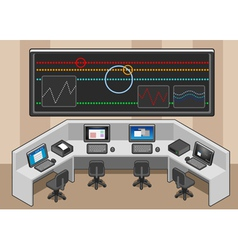 Isometric controll center vector