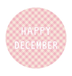 Happy december background4 vector
