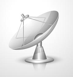 Radar dish vector