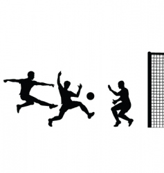 Goalmouth action vector