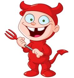 Devil kid vector