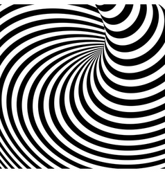 Design monochrome vortex movement background vector