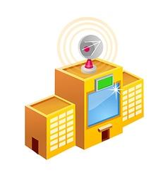 Icon broadcasting vector