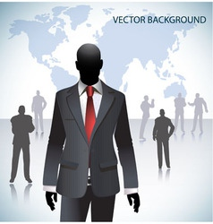 World businessman vector