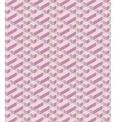 Pink geometrical vector