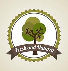 Natural design vector