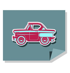 Classic cars - 60s vector