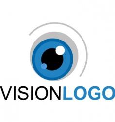 Vision logo vector
