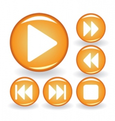 Music button vector