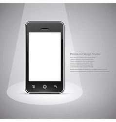Smart phone design vector
