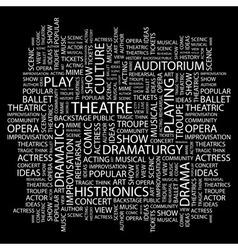 Theatre vector