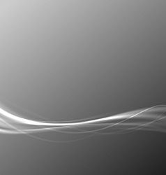 Modern transparent speed wave abstract gray vector
