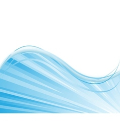 Blue colored ray background vector