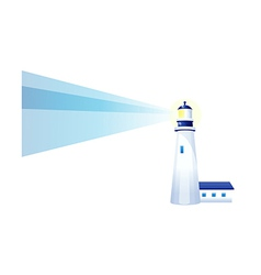 Icon light house vector