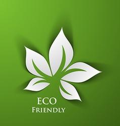 Green eco friendly vector
