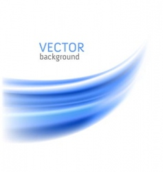 Abstract blue wave backgrounds vector