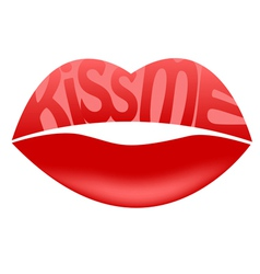Kiss me vector
